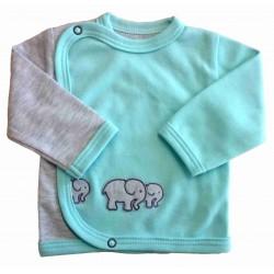 Kabátek slon mint - kód 247