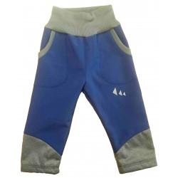 Kalhoty Softshell modré - kód 5113