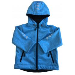 Softshell bunda modrá - kód 5126
