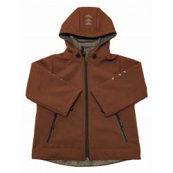 Softshell bunda hnědá - kód 5135