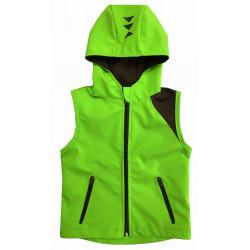 Letní softshell vesta zelená - kód 5166