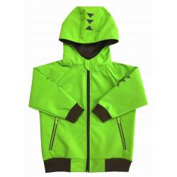 Letní softshell bunda zelená - kód 5155