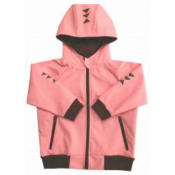 Letní softshell bunda růžová - kód 5153
