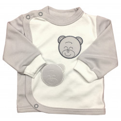 Kabátek šedý medvěd- kód 281