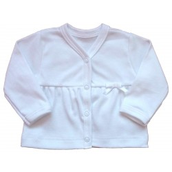 Kabátek bílý - kód 206